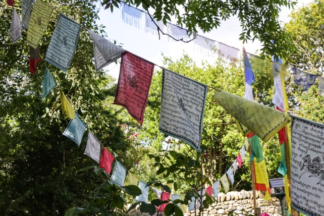 Tibetan Buddhist Prayer Flags North Wales