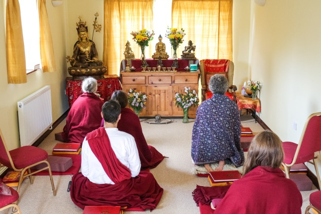 Meditation sessions and classes at The Hermitage in North Wales