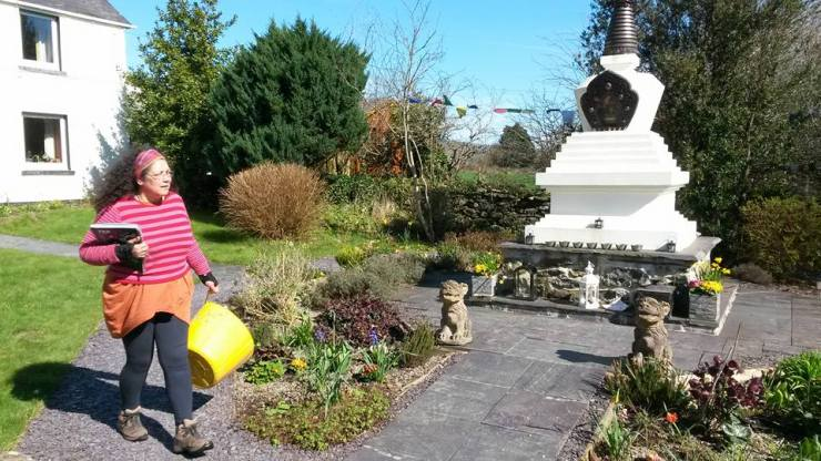 Volunteers_Buddhist_Retreat_Centre_Criccieth