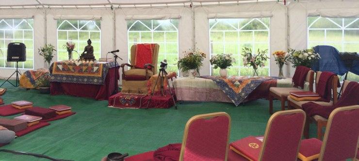 Tibetan Buddhist Retreat Centre Criccieth, Gwynedd, North Wales