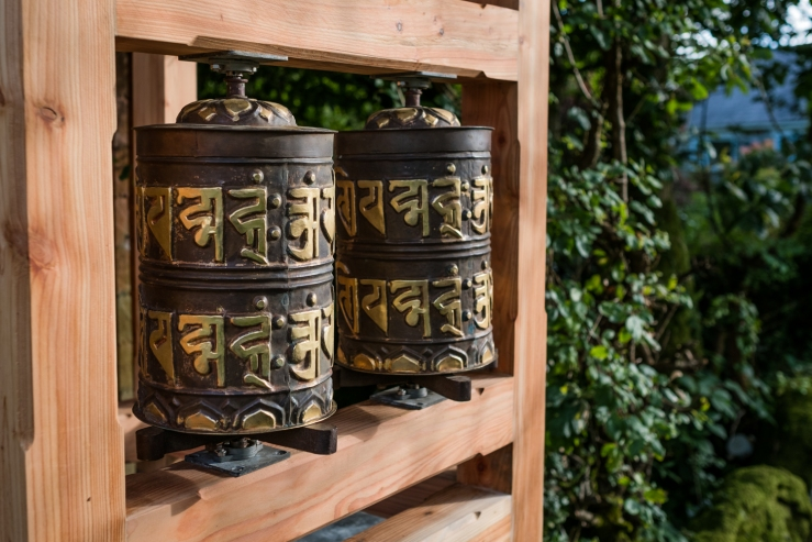 Tibeten Buddhist Prayer Wheels North Wales