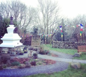 Tibetan Buddhist Stupa Criccieth North Wales